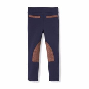 Janie and Jack Girls' Riding Pant Blue